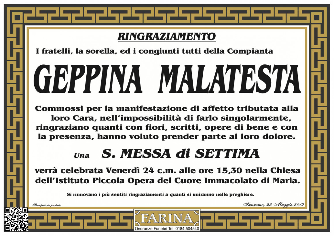 Geppina Malatesta